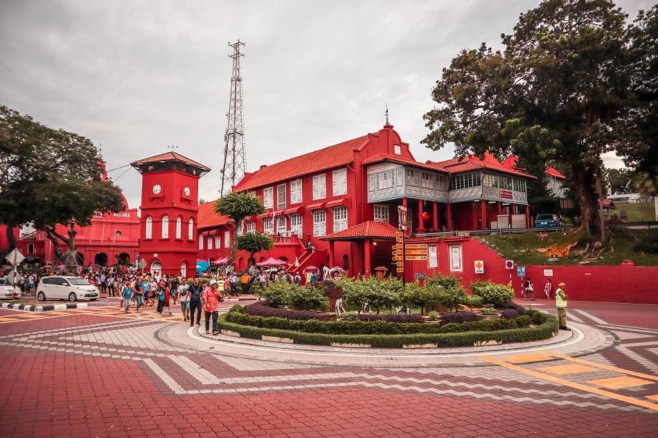 Stadthuys Melaka Malacca