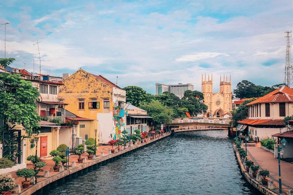 View over Melaka