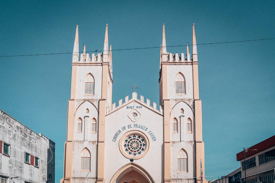 Church of St Francis Xavier Melaka Malacca