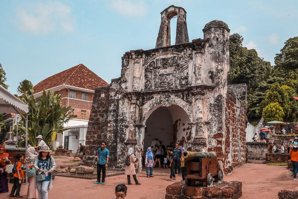 A'famosa Porta de Santiago Melaka Malacca
