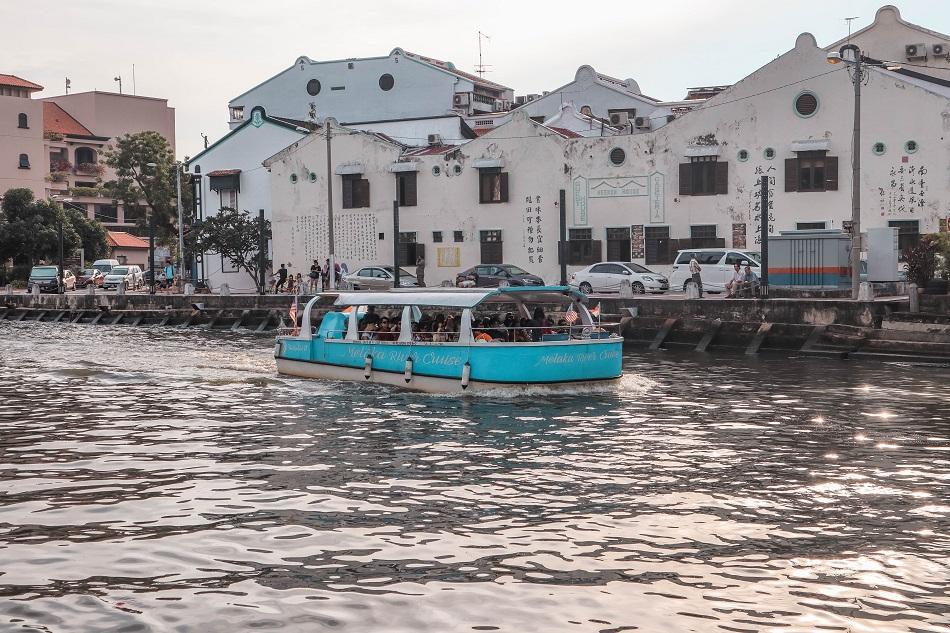 River cruise Melaka Malacca