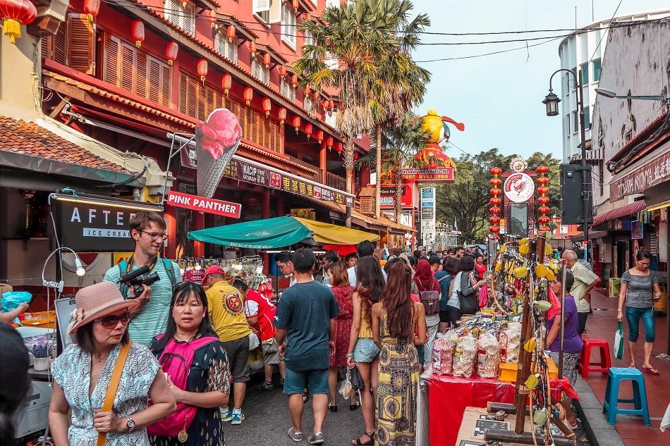 Jonker Street Night Market Melaka Malacca
