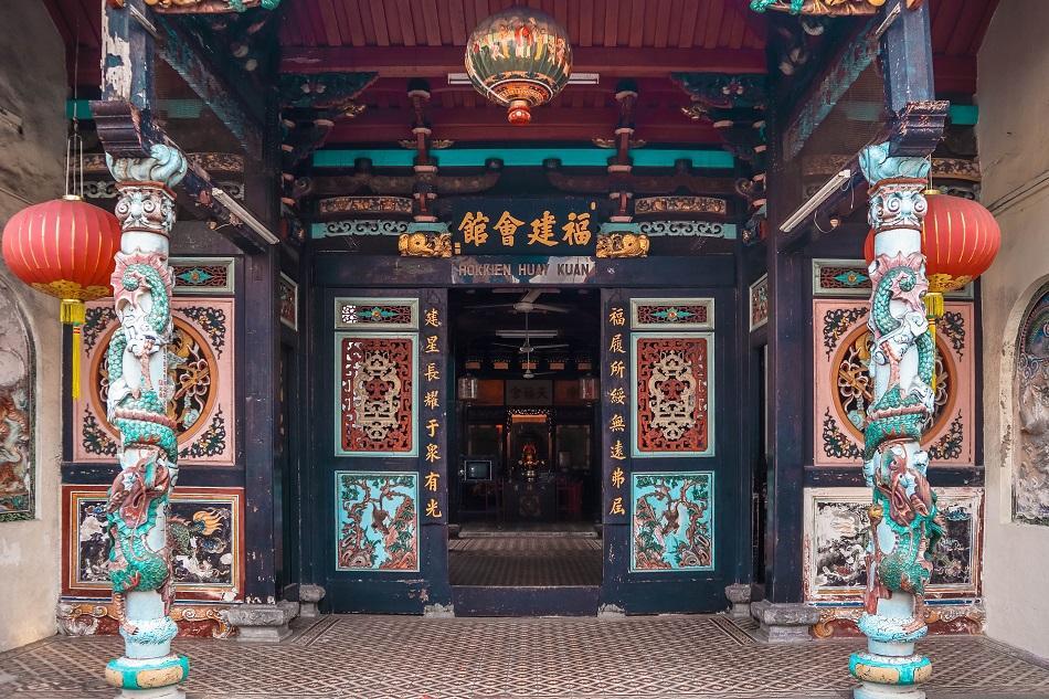 Hokkien Huay Kuan Temple Melaka Malacca