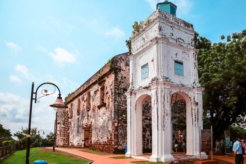 St Paul's Church Melaka Malacca