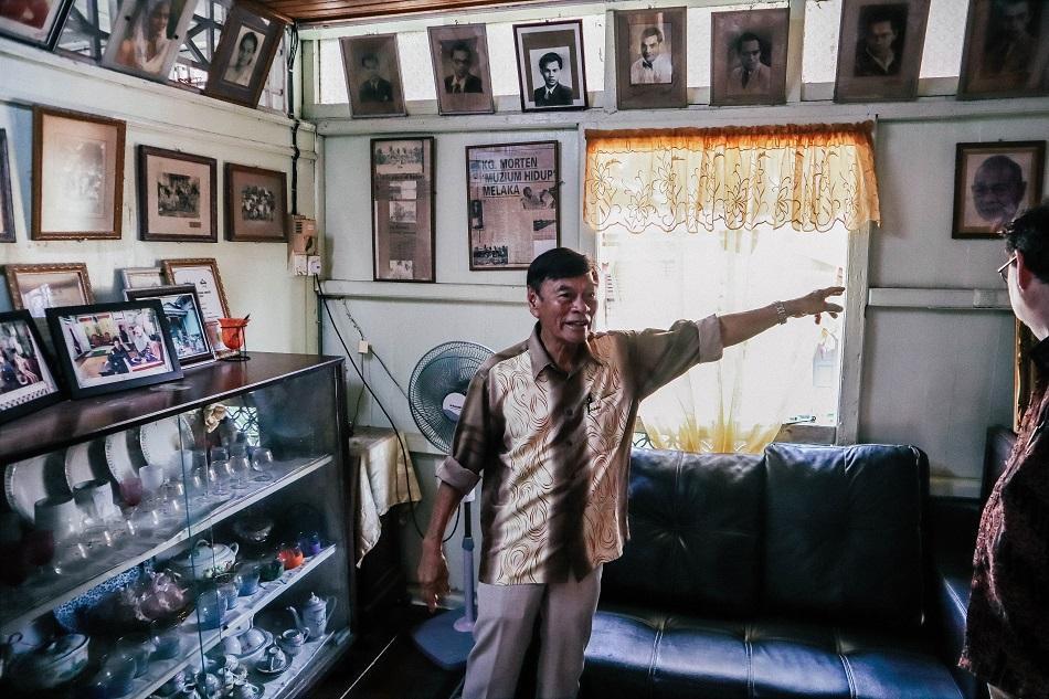 Villa Sentosa Melaka interior owner
