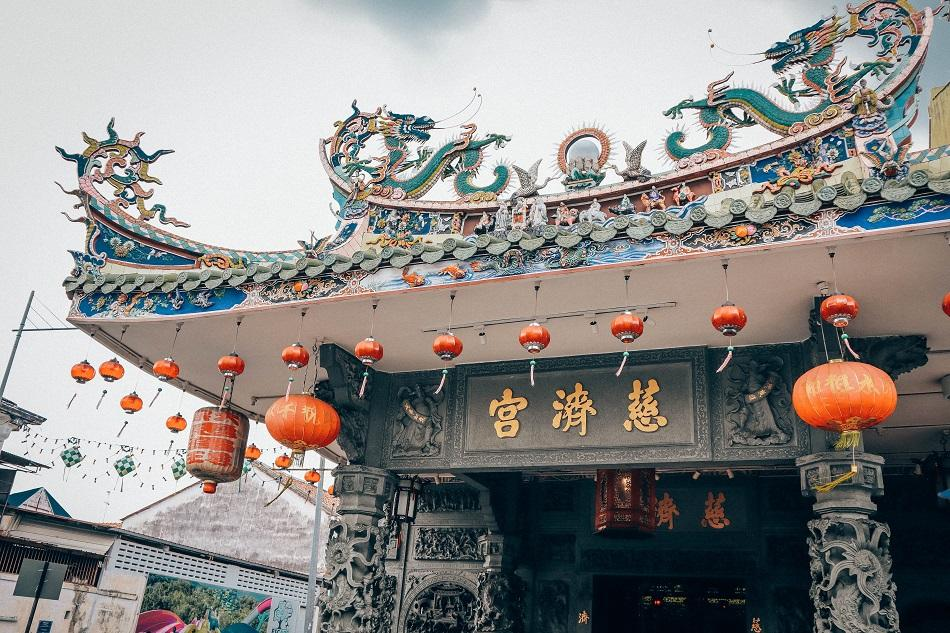 Yap Kongsi clanhouse temple in George Town, Penang - what to do in Penang itinerary