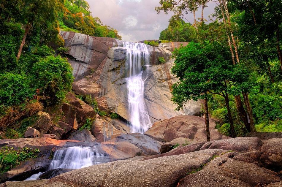 Seven Wells Waterfall, Langkawi Island, Malaysia