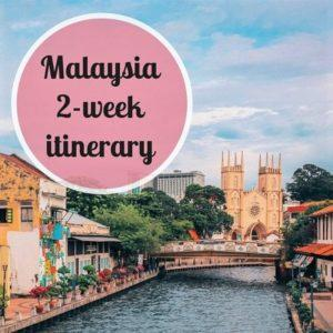 2 weeks in Malaysia – the PERFECT itinerary
