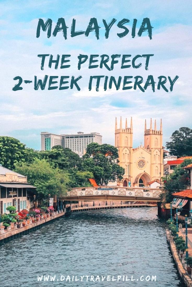 Two Week Itinerary Malaysia