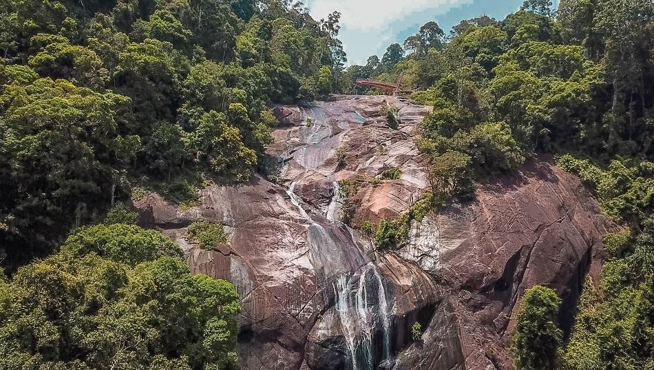 7 Wells Waterfall - Jalan Telaga Tujuh Langkawi