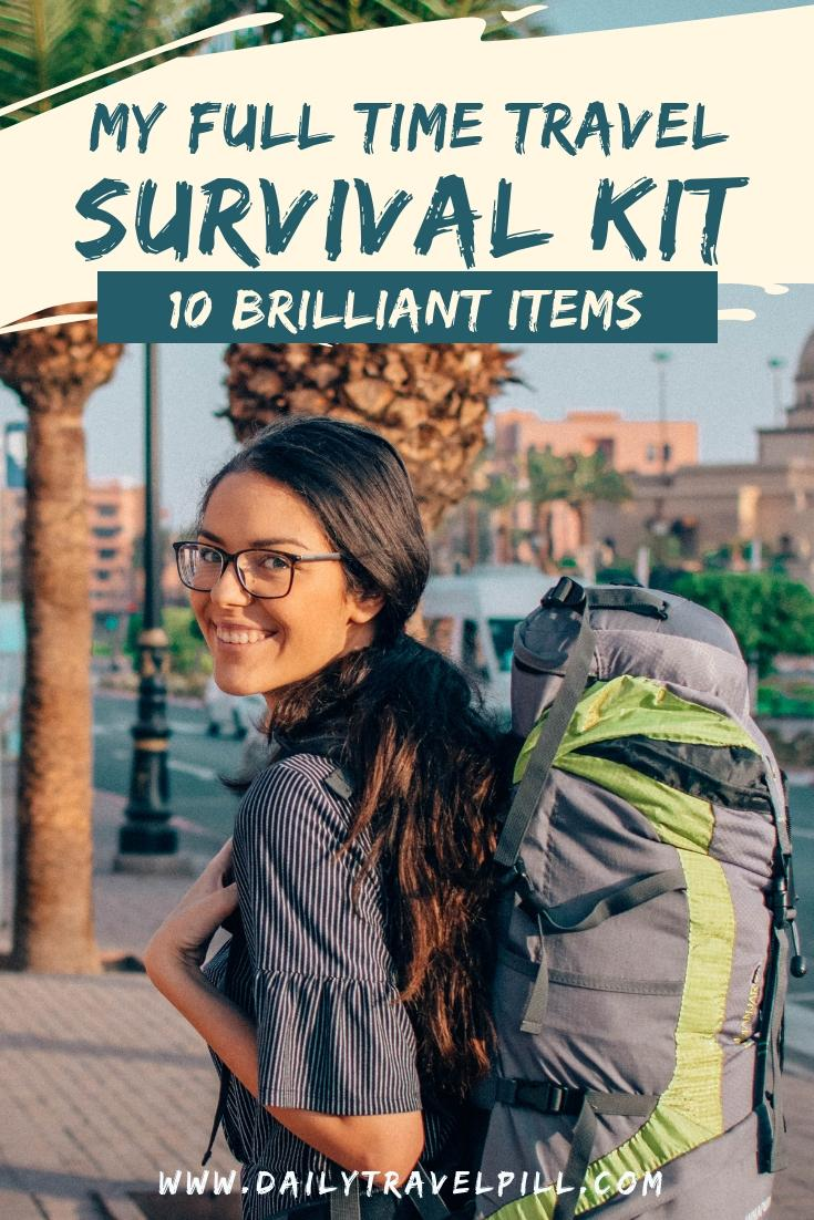 Travel must have items - survival kit