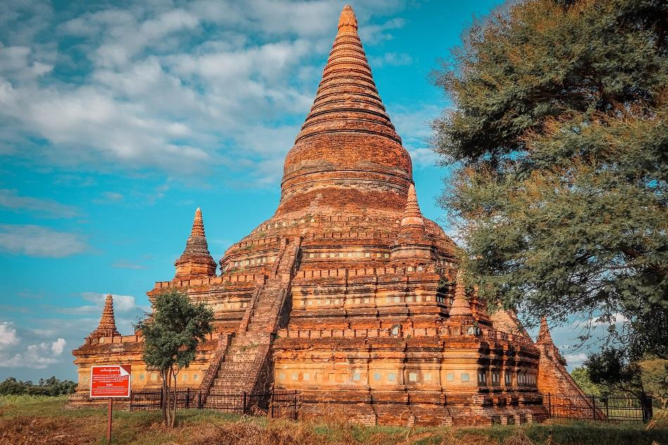 Best temples in Bagan - Bulethi Temple