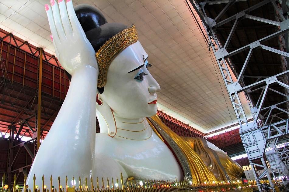 Best Yangon Temples - Chauk Htat Kyi Pagoda