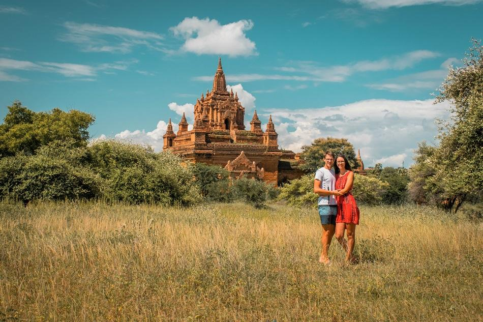 Best temples in Bagan - Kya Zin Hpaya Temple