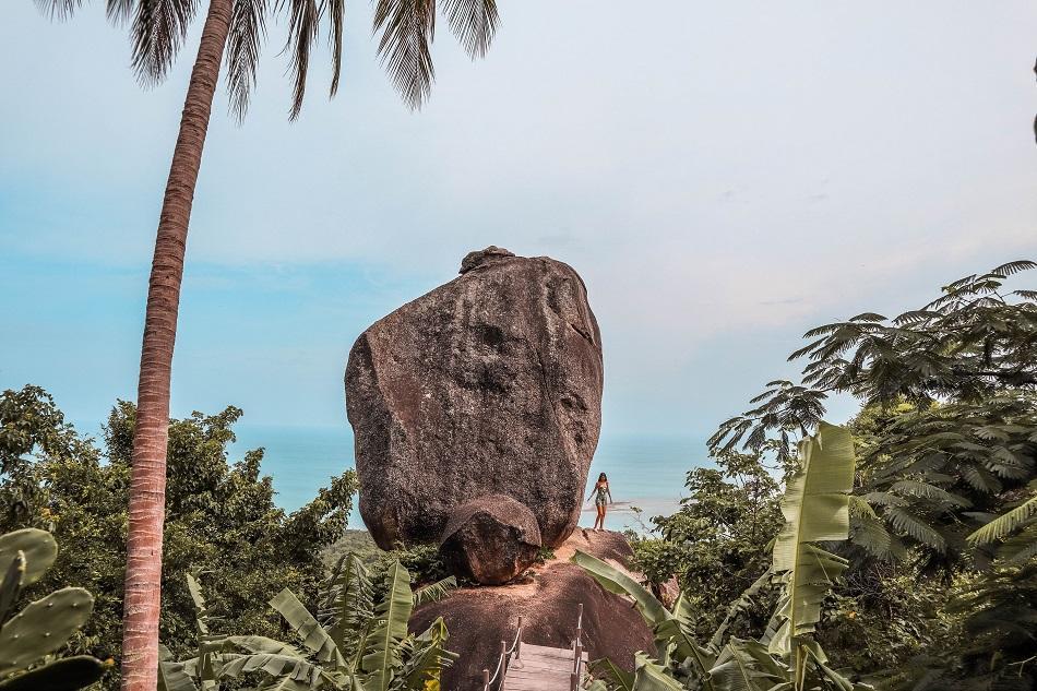 Overlap Stone Koh Samui photography spot