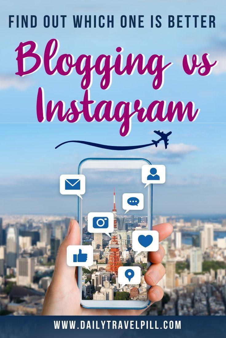 blog or instagram