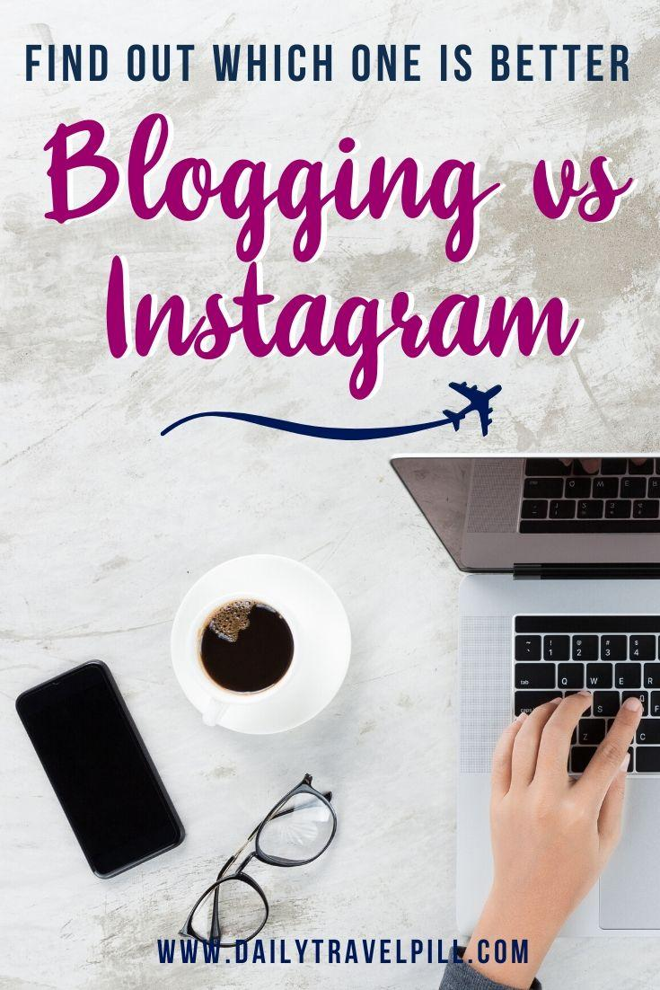 blog or instagram