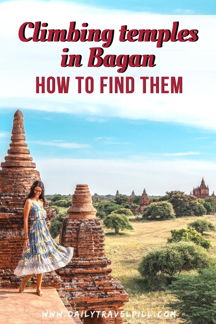How to find temples you can still climb in Bagan 2019