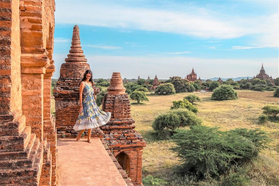 Find temples you can still climb on in Bagan, Myanamr