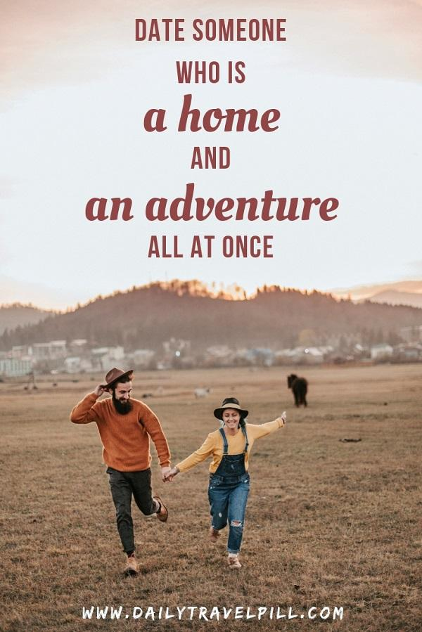 adventure travel couple quote