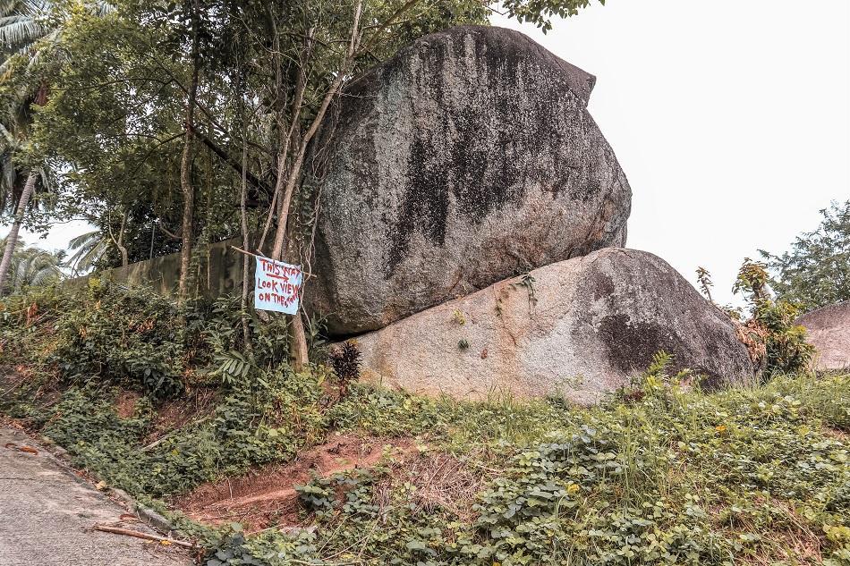 How to get ot Overlap Stone Koh Samui