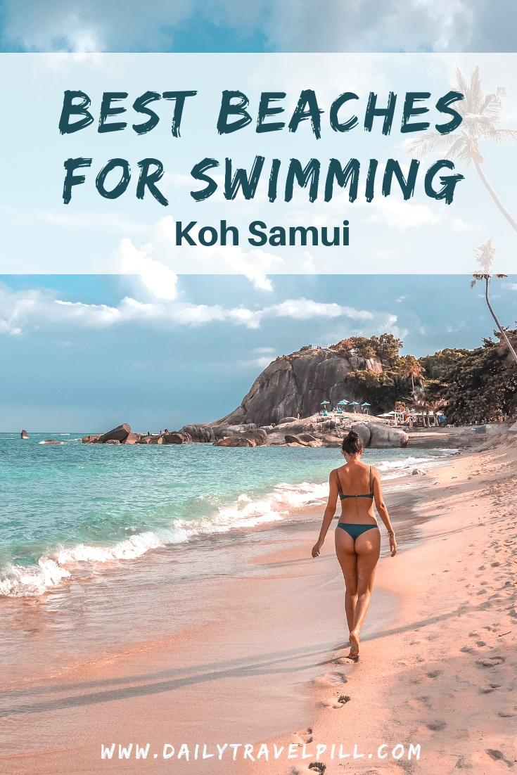 The best beaches for swimming in Koh Samui