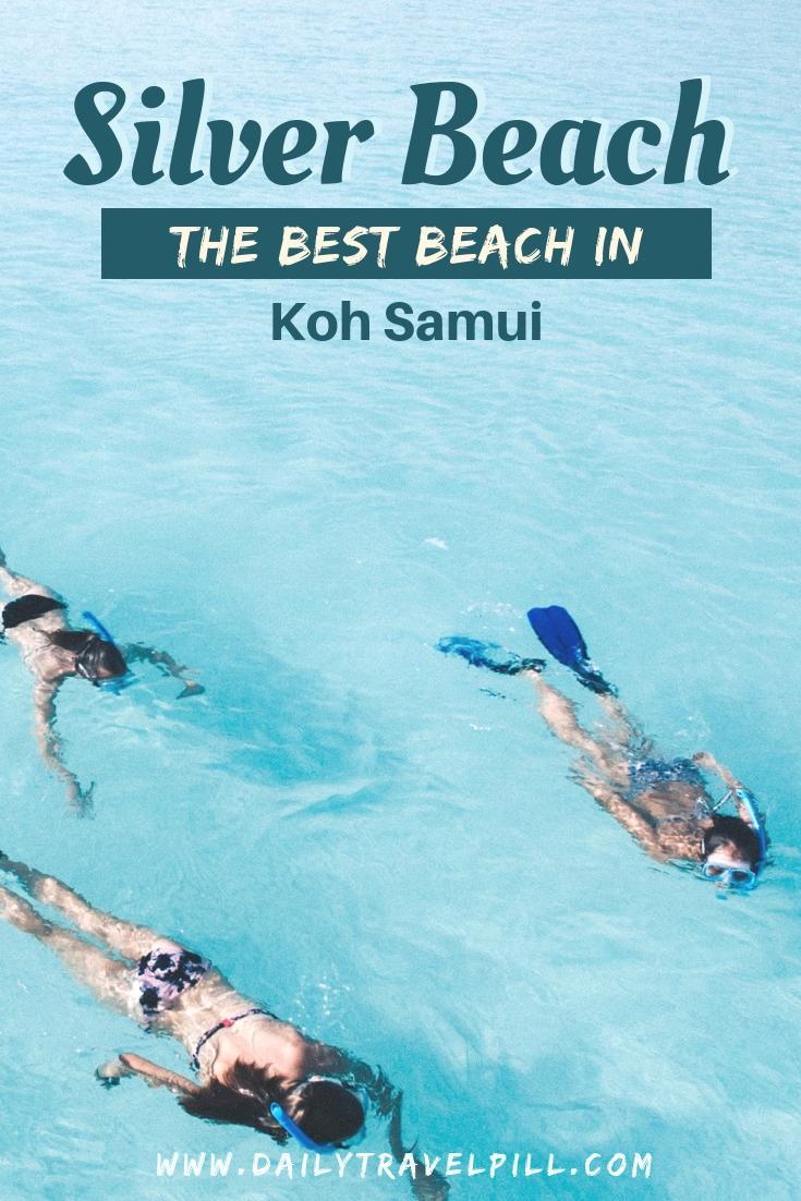 Silver Beach Koh Samui snorkeling