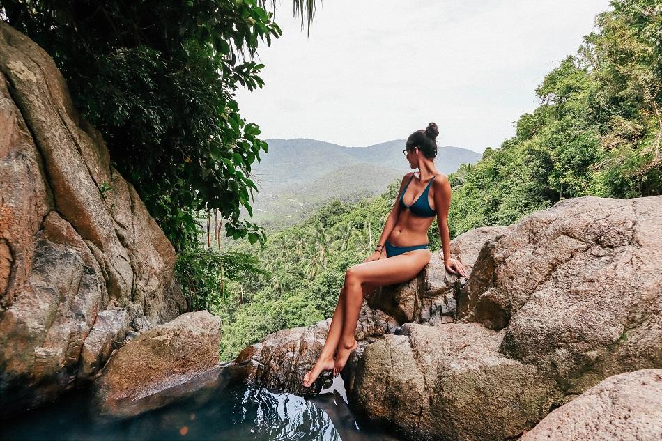 Na Muang Waterfall 2 Koh Samui top natural pool