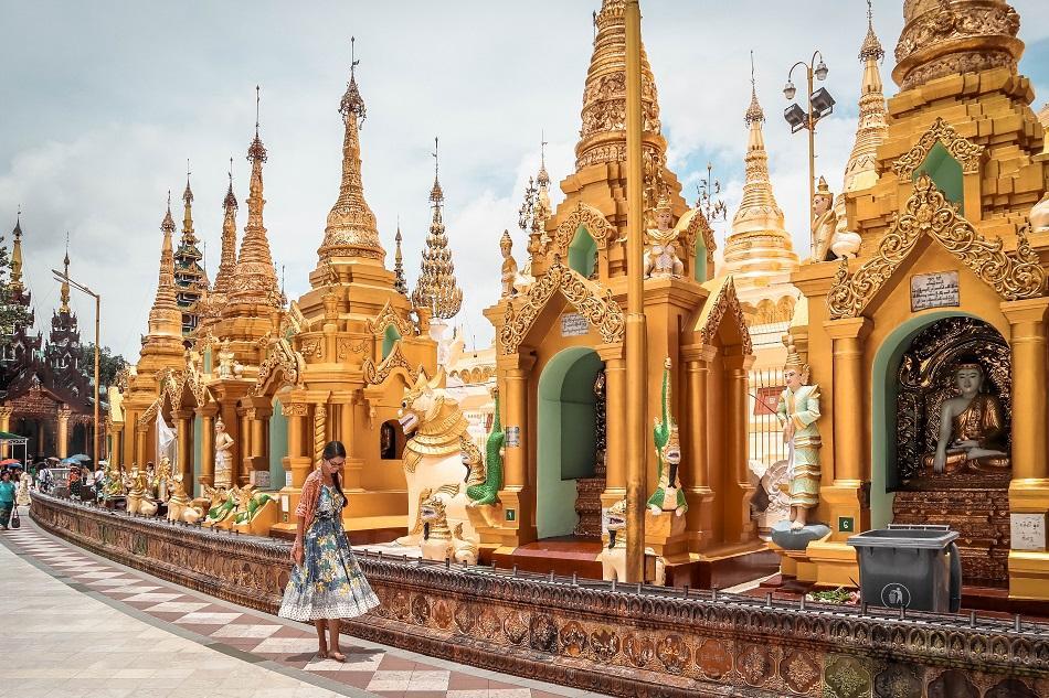 Myanmar temple dress code