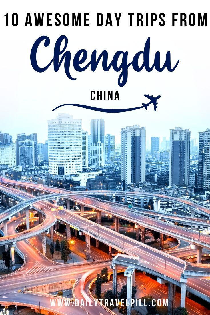 Best day trips from Chengdu, China