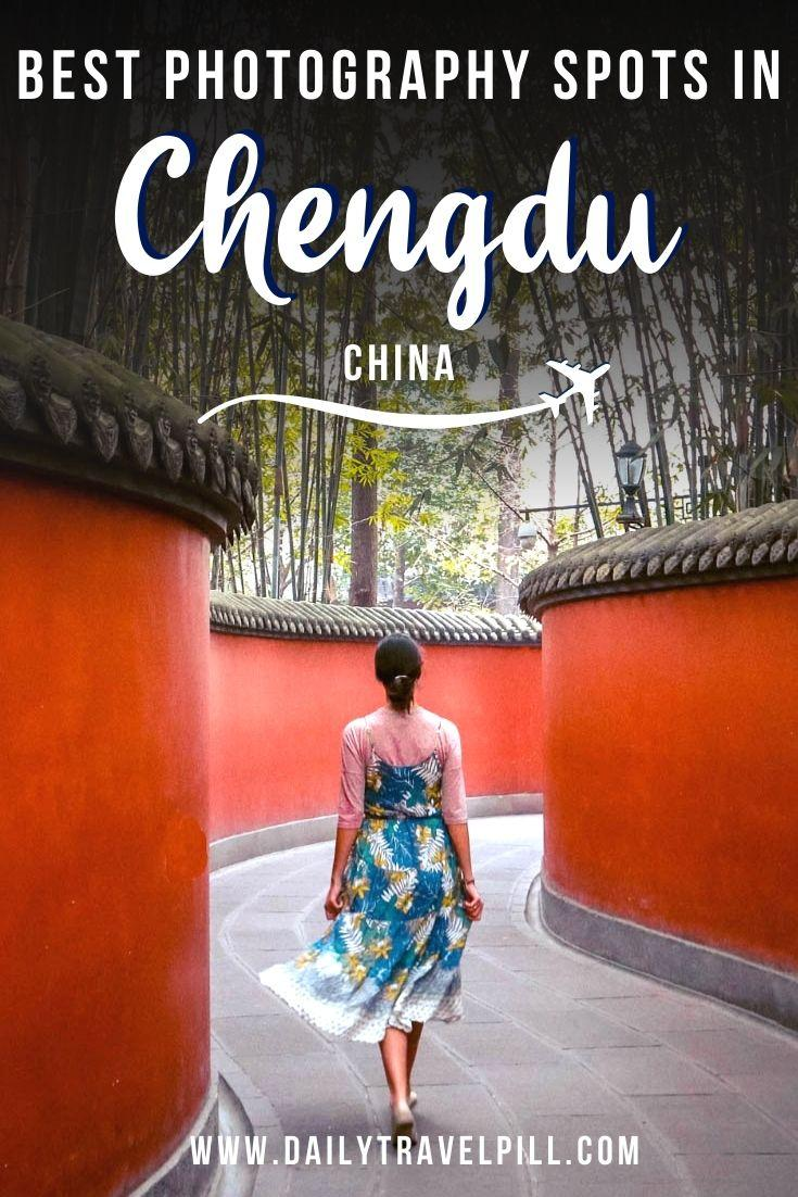 Top photography locations in Chengdu, China