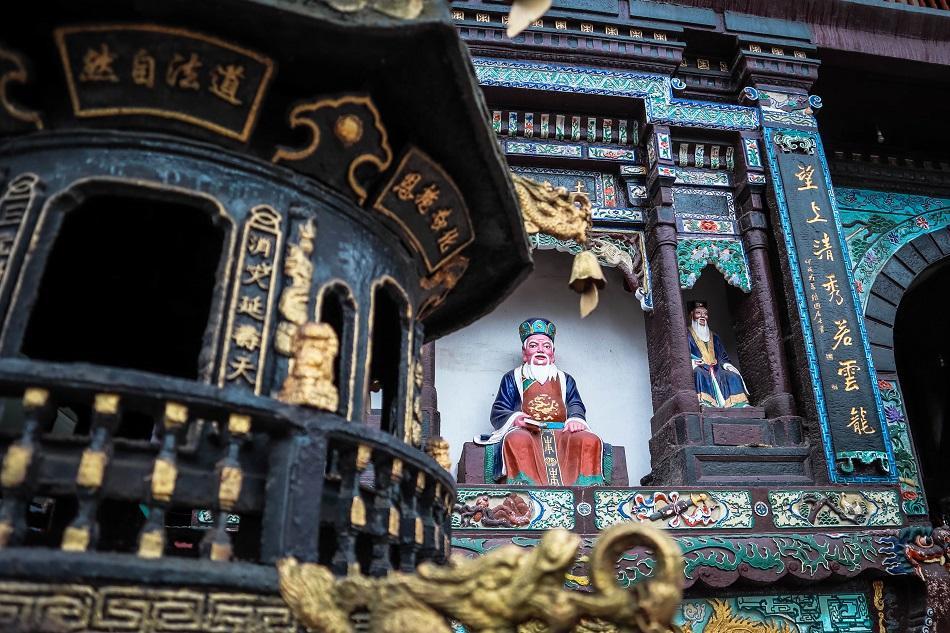 Qingcheng Mountain temple, Chengdu