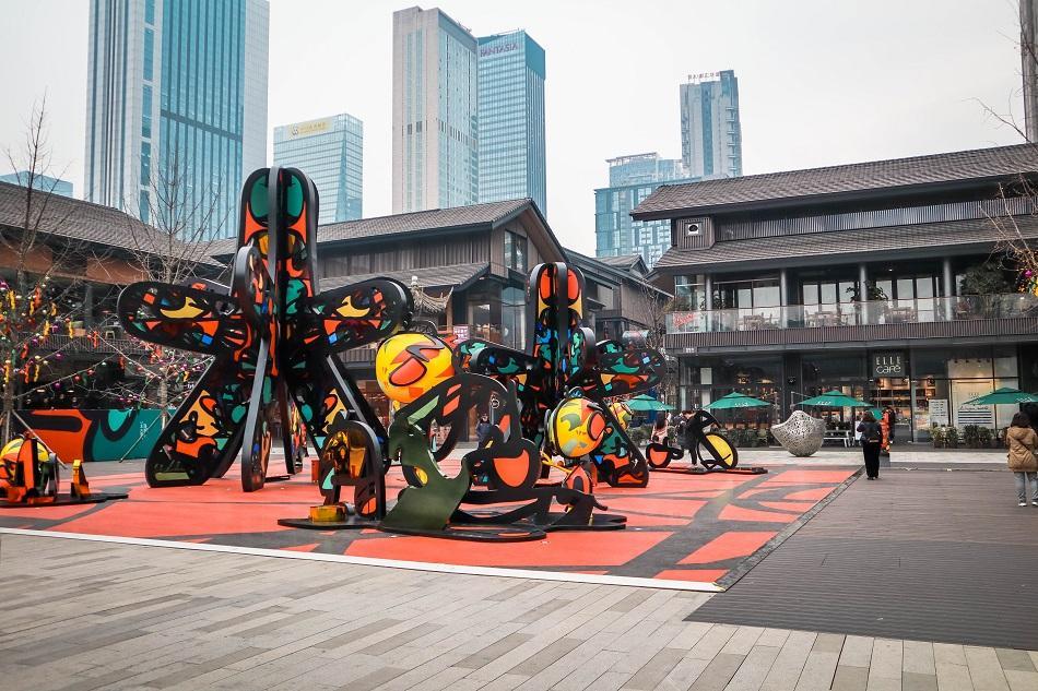 Taikoo Li Chengdu shopping district Chengdu