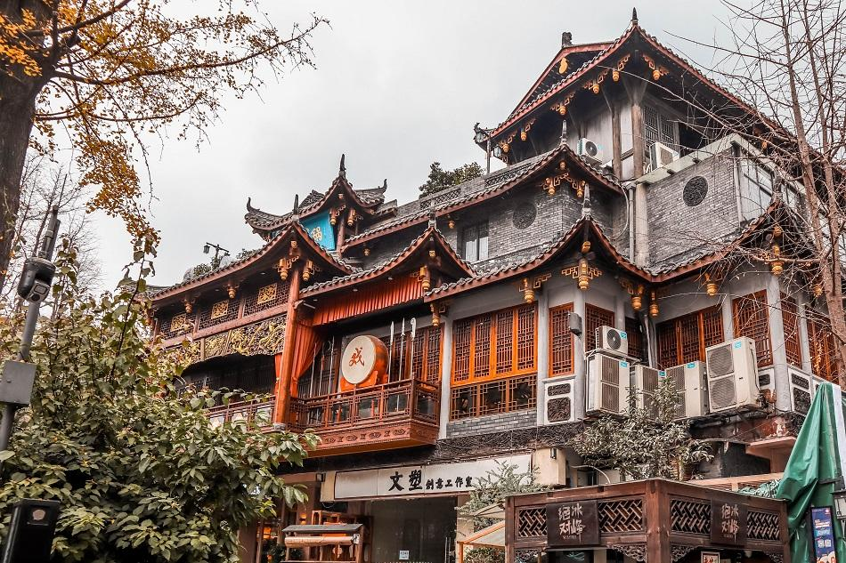Chengdu traditional architecture