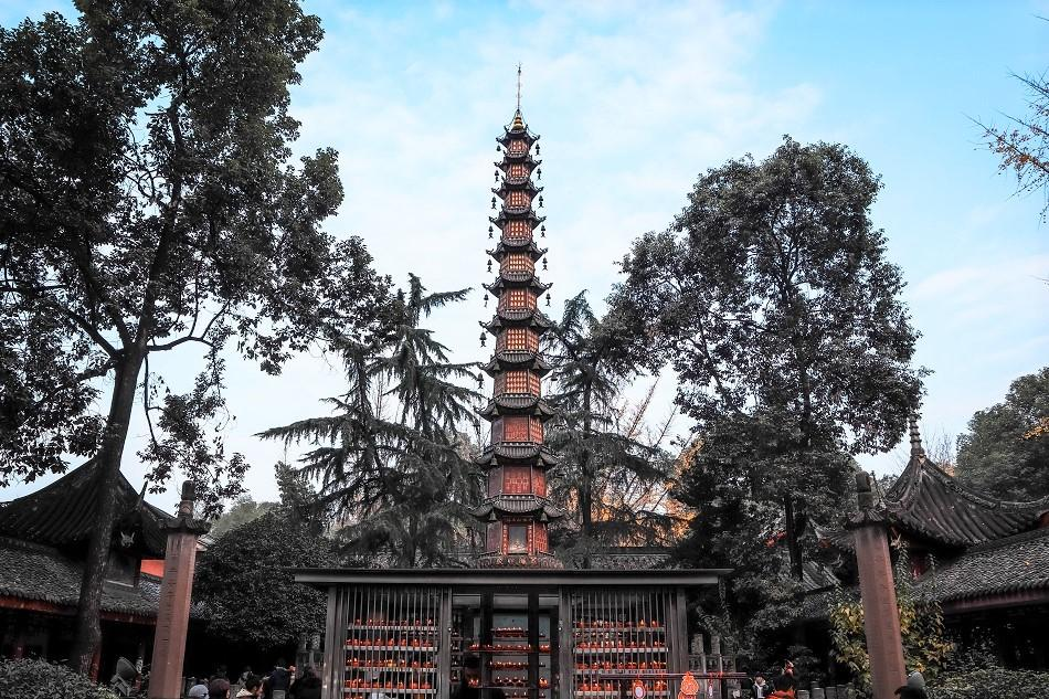 Wenshu Monastery Chengdu entrance