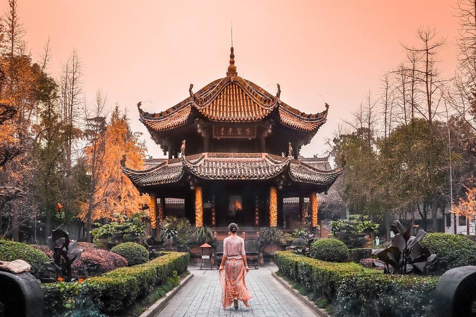 Qingyang Palace, Chengdu