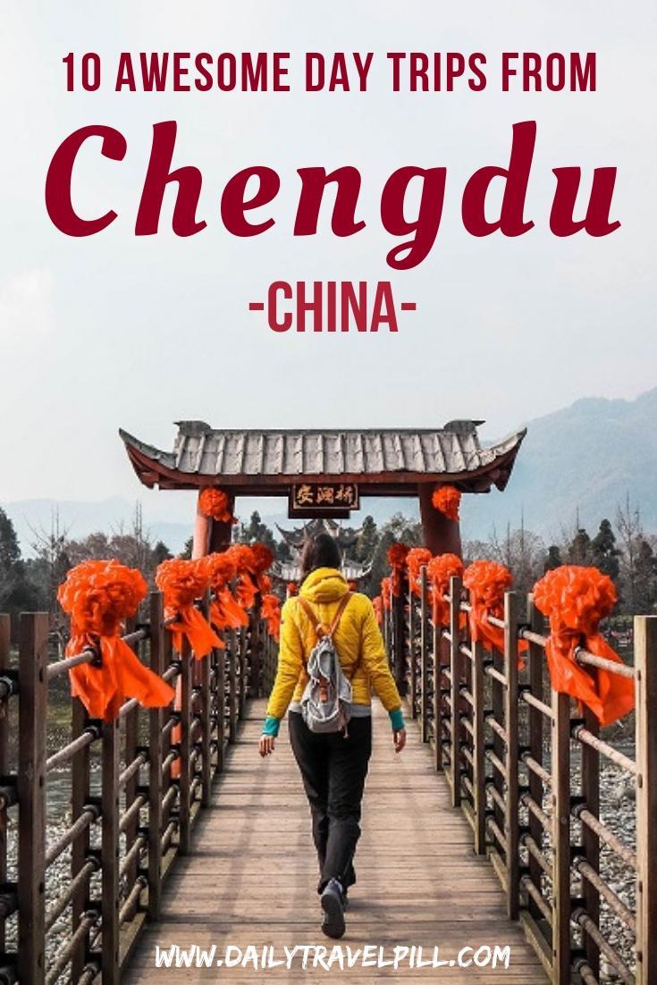 amazing day trips from Chengdu, China