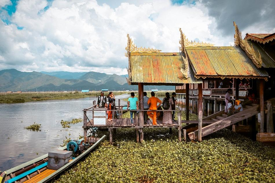 The Jumping Cat Monastery Inle Lake