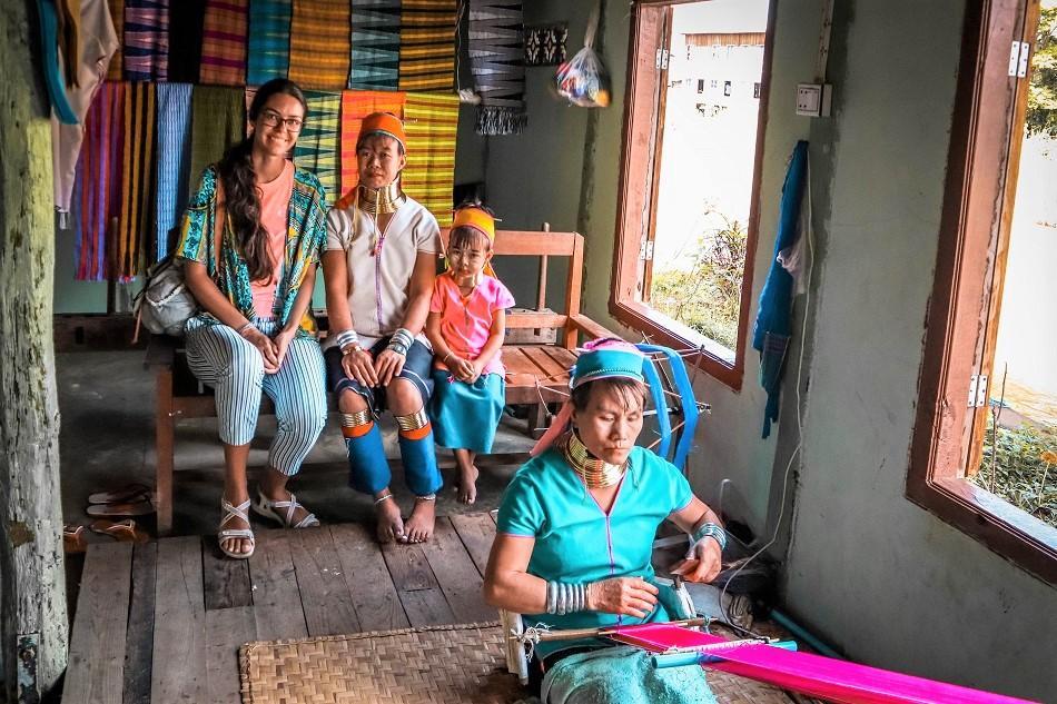 Pa Daung Women or the Long Neck Women at Inle Lake