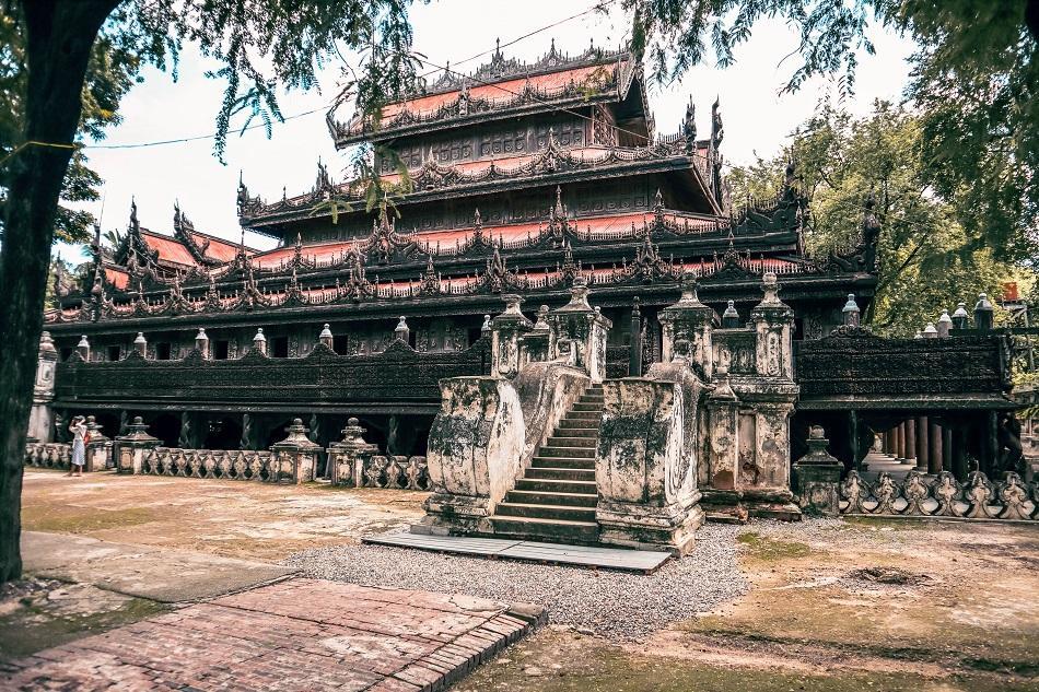 Shwenandaw Monastery, Mandalay