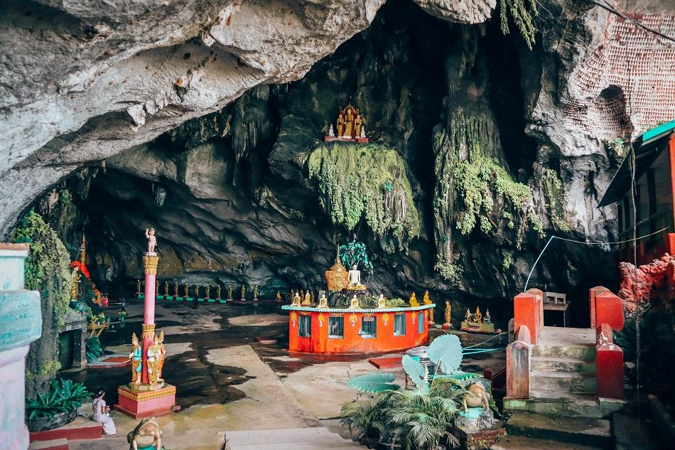 Entrance to Saddan Cave, Hpa An