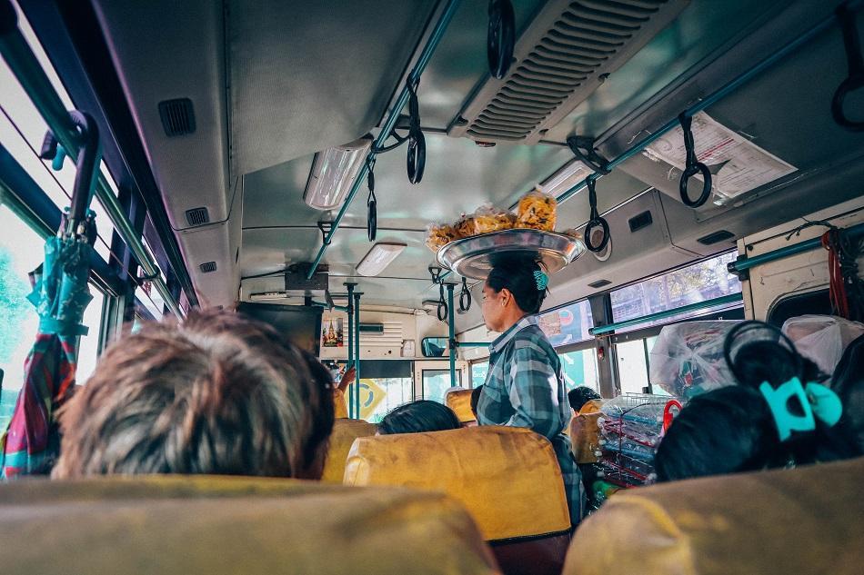 Hpa An to Mawlamyine bus