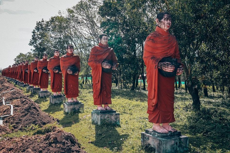 Win Sein Taw Ya - Biggest reclining Buddha in the world, near Mawlamyine