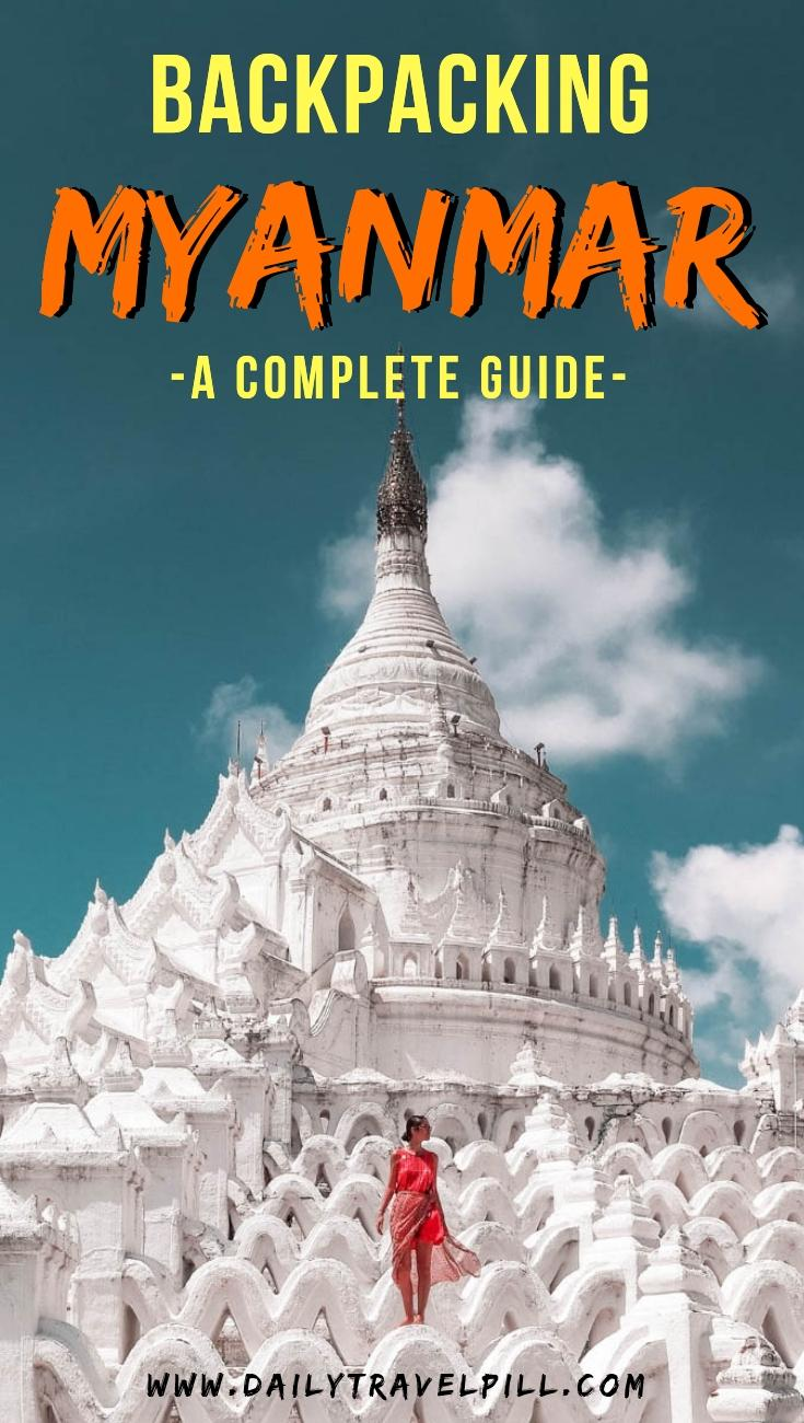 Backpacking Myanmar guide