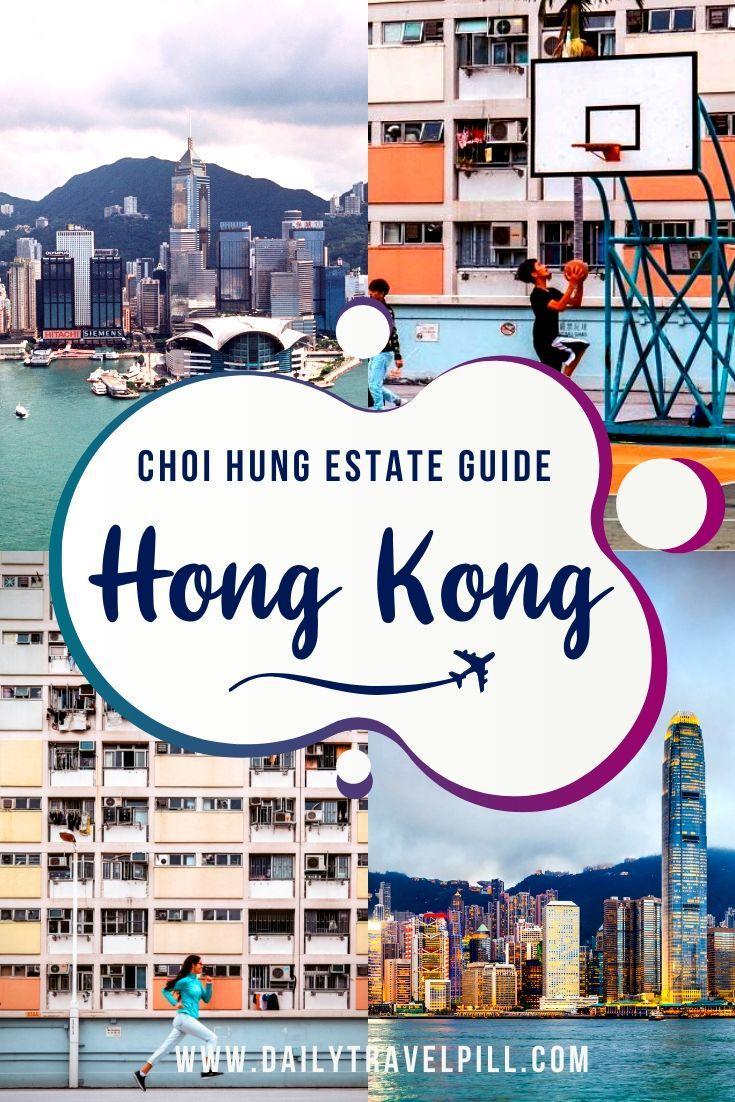 Choi Hung famous basketball court in Hong Kong