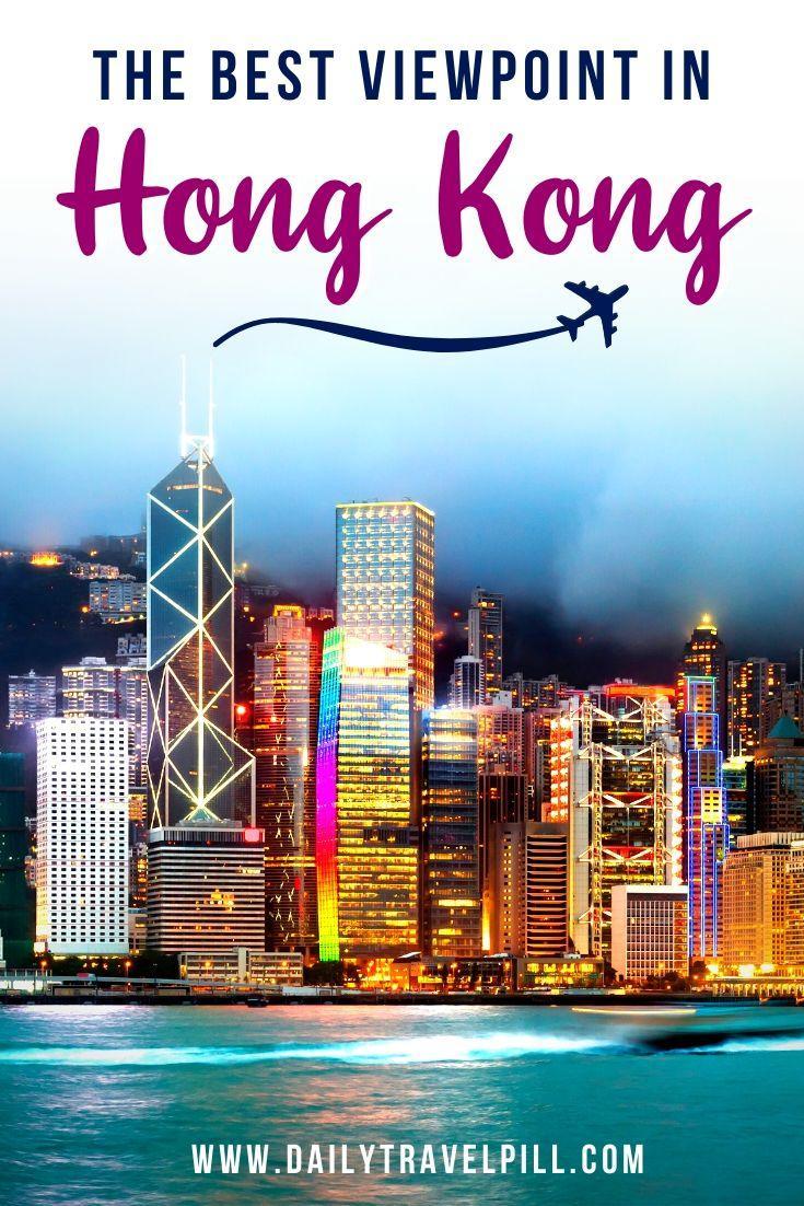 Lugard Road lookout point Hong Kong