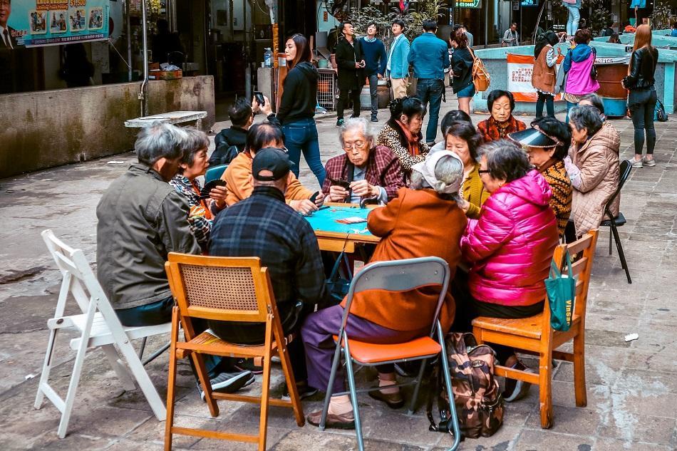 Locals at Montane Mansion, Hong Kong