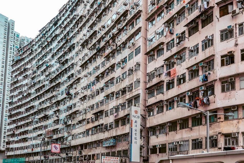 Montane Mansion exterior, Hong Kong