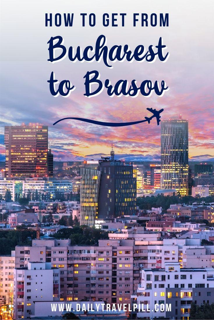 How to get from Bucharest to Brasov - transport options