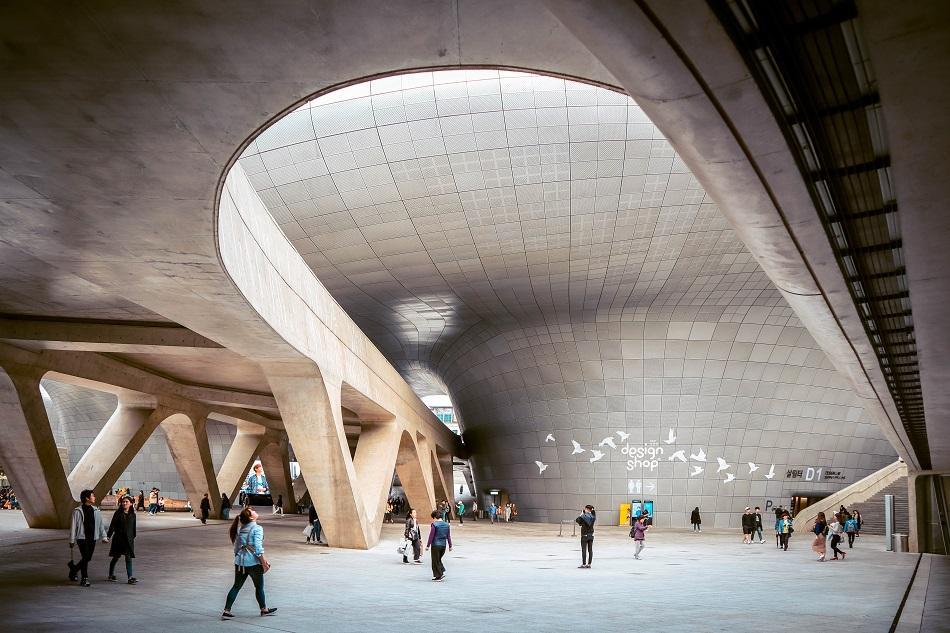 Dongdaemum Design Plaza interior
